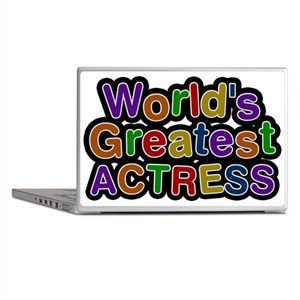 Worlds Greatest ACTRESS Laptop Skins