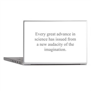 Famous Science Quotes Laptop Skins - CafePress