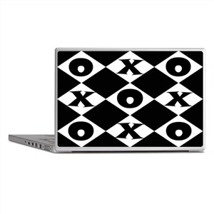 Tic Tac Toe Laptop Skins