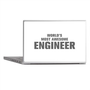 WORLDS MOST AWESOME Engineer-Akz gray 500 Laptop S