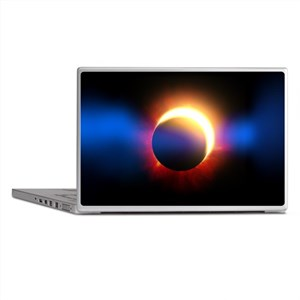 Solar Eclipse Laptop Skins