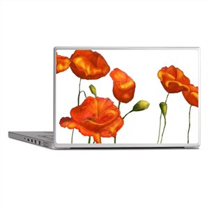 Poppies Laptop Skins