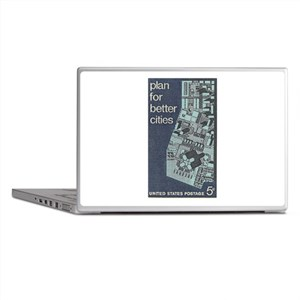 City Stamp Laptop Skins
