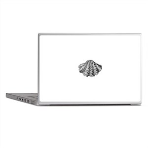 Vintage Clam Seashell Laptop Skins