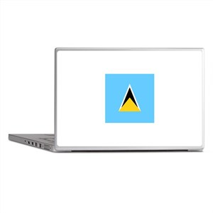 Flag of Saint Lucia Laptop Skins