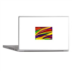 Gay rainbow art Laptop Skins