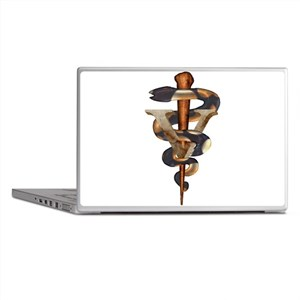 Veterinary Caduceus Laptop Skins
