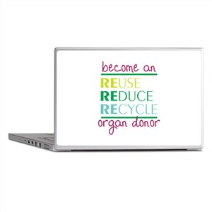 Organ Donor Laptop Skins