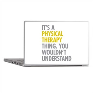 Physical Therapy Thing Laptop Skins