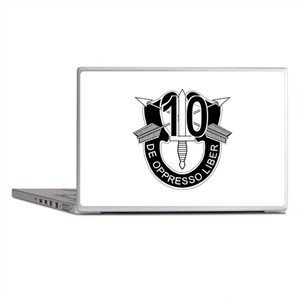 10th Special Forces - DUI - No Txt Laptop Skins