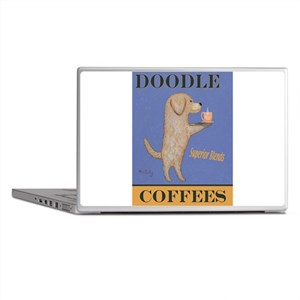 Doodle Coffee Laptop Skins