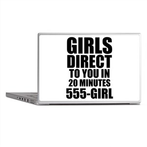 Girls Direct to You Laptop Skins