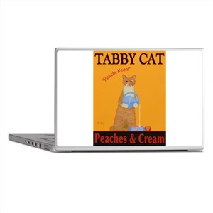 Tabby Cat Peaches and Cream Laptop Skins