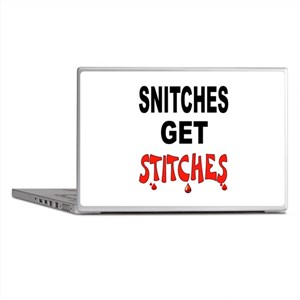 SNITCHES Laptop Skins