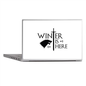 Winter Is Here Laptop Skins