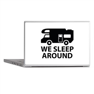 We Sleep Around Laptop Skins