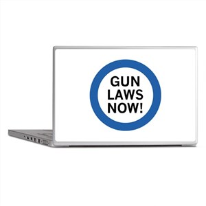 Gun Laws Now! Laptop Skins