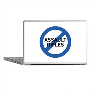Ban Assault Rifles Laptop Skins