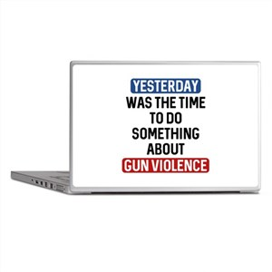End Gun Violence Now Laptop Skins
