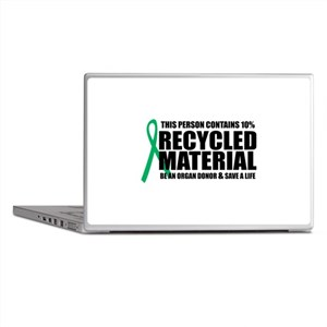 Organ Donor: Recycled Materia Laptop Skins