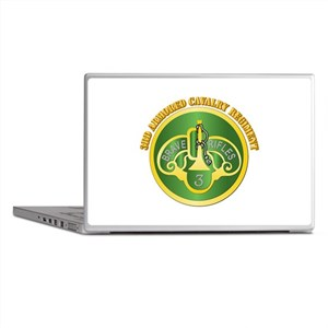DUI - 3rd Cavalry Rgt with Text Laptop Skins