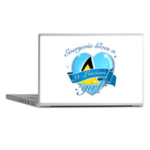 I heart St Lucian Designs Laptop Skins