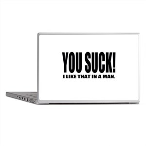 You Suck! Funny Design Laptop Skins