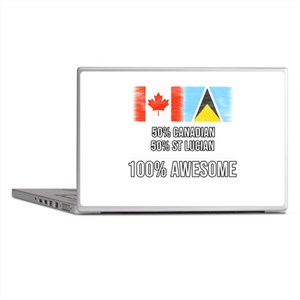 50% Canadian 50% St Lucian 100% Aweso Laptop Skins