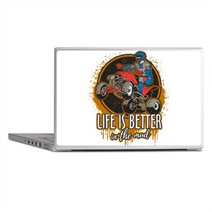 ATV Offroad Life is Better In the Mud Laptop Skins