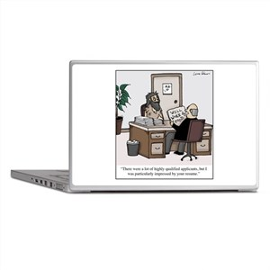 Bum Resume Laptop Skins