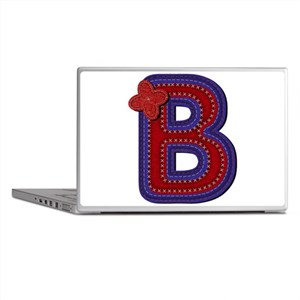 B Red Caps Laptop Skins