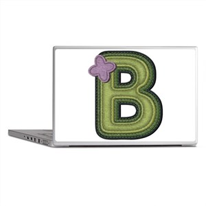 B Spring Green Laptop Skins