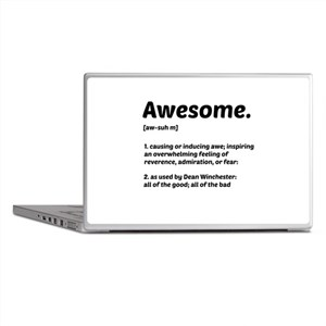 Supernatural: Vital information- Awesome Laptop Sk