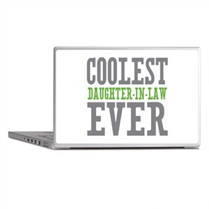 Coolest Daughter-In-Law Ever Laptop Skins
