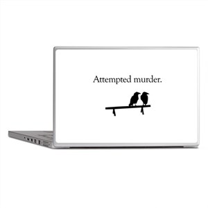 Attempted Murder Laptop Skins