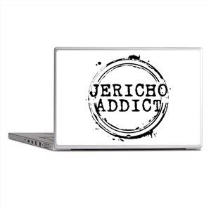 Jericho Addict Stamp Laptop Skins