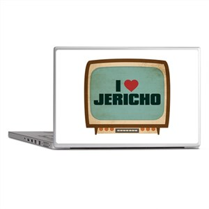 Retro I Heart Jericho Laptop Skins