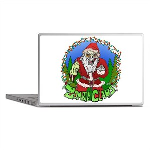 Zombie Claus Laptop Skins