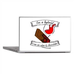 Wine Chocolate Hybrid Laptop Skins