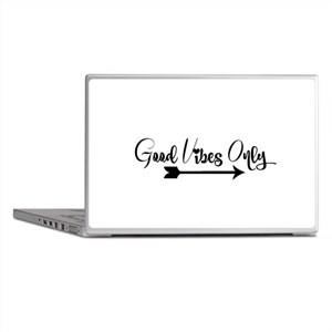 Good Vibes Only Laptop Skins