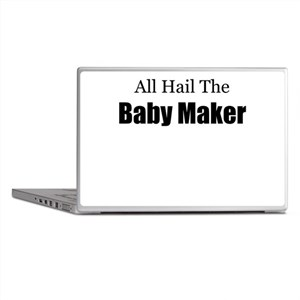 ALL HAIL THE BABY MAKER Laptop Skins