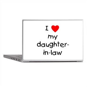 I love my daughter-in-law Laptop Skins