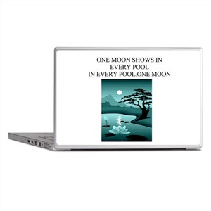 zen buddhist gifts and t0shir Laptop Skins