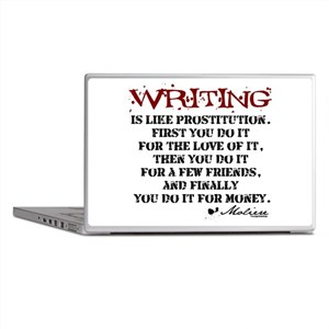 Moliere Writing Quote Laptop Skins