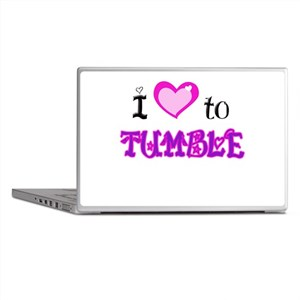 I Love to Tumble Laptop Skins