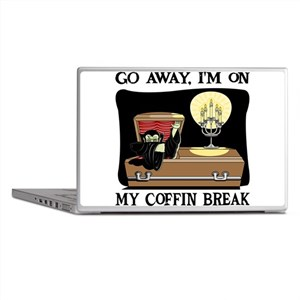 Coffin Break Laptop Skins