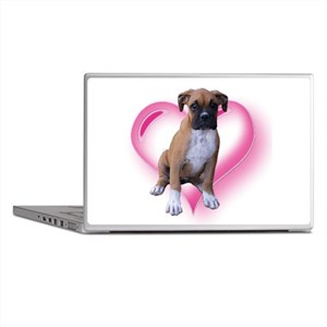 Love Boxer Puppy Laptop Skins