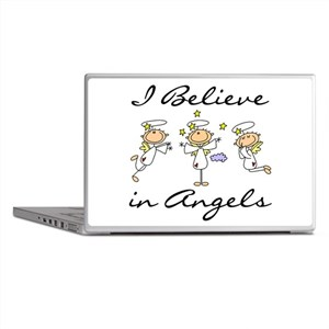 I Believe in Angels Laptop Skins