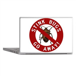 Stink Bugs Go Away Laptop Skins