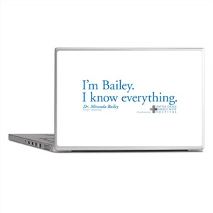 I'm Bailey. I Know Everything Laptop Skins